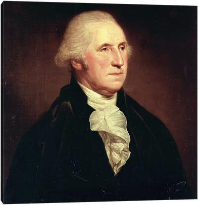 Portrait of George Washington, 1795 Canvas Art Print