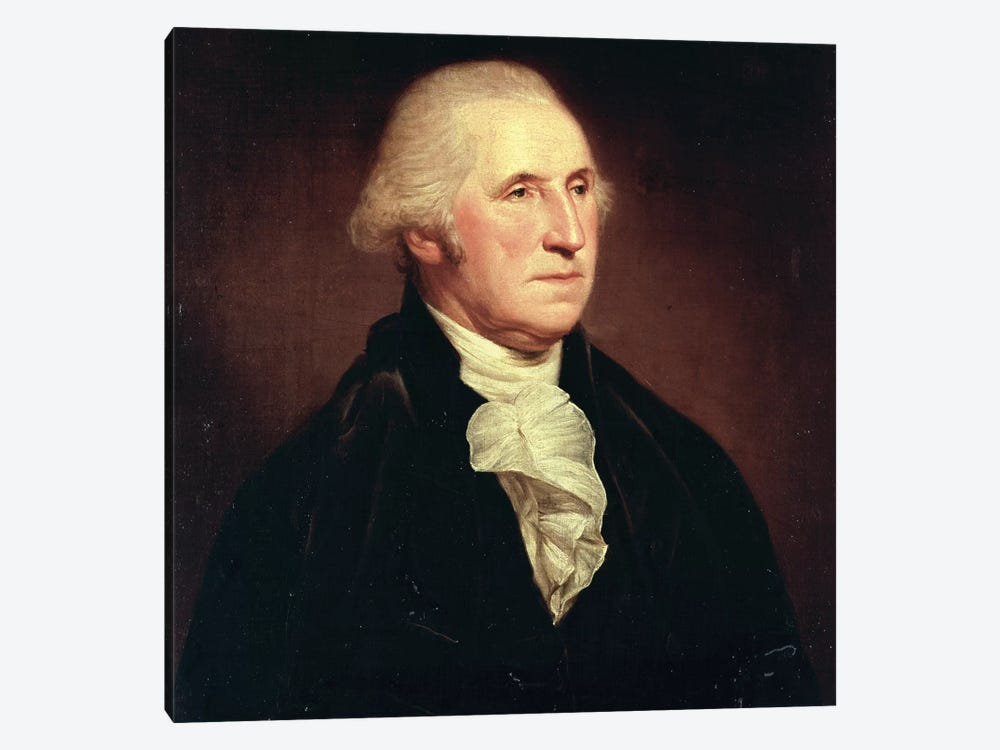 Portrait of George Washington, 1795 by Charles Willson Peale 1-piece Canvas Wall Art