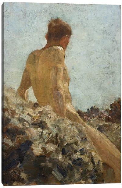 Nude Study Canvas Art Print