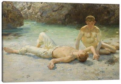 Noonday Heat, 1902-3 Canvas Art Print