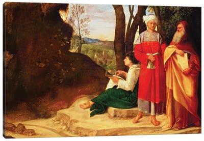The Three Philosophers  Canvas Art Print