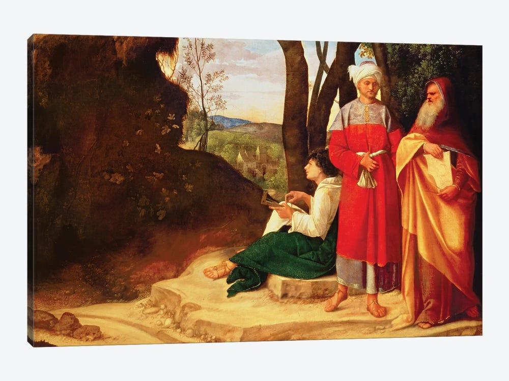 The Three Philosophers  by Giorgio Giorgione 1-piece Canvas Art