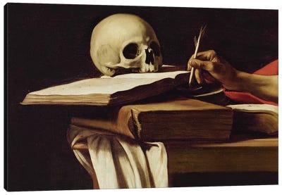 St. Jerome Writing, c.1604 Canvas Art Print