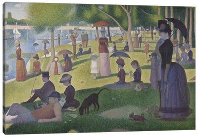 A Sunday on La Grande Jatte, 1884-86 Canvas Art Print