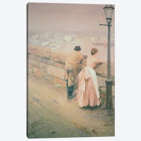 Fisherman, St. Ives, 1888 Canvas Print #BMN938} by Anders Leonard Zorn Canvas Art