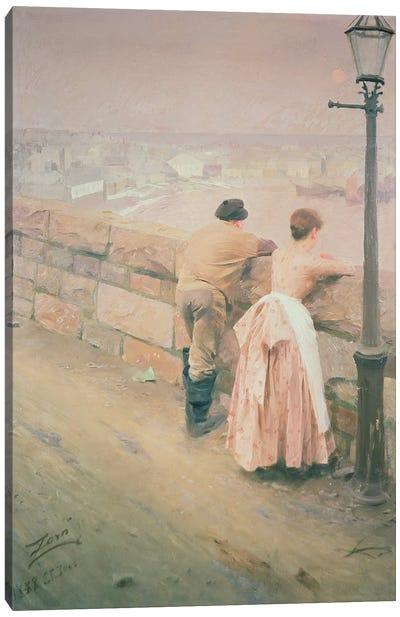 Fisherman, St. Ives, 1888 Canvas Print #BMN938