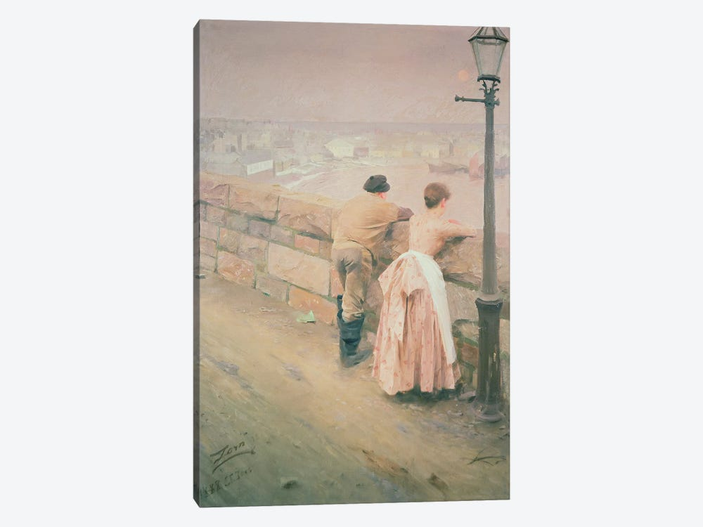 Fisherman, St. Ives, 1888 by Anders Leonard Zorn 1-piece Canvas Art