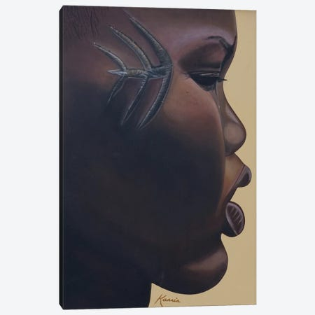 Tribla Mark, 2007 Canvas Print #BMN9390} by Kaaria Mucherera Art Print