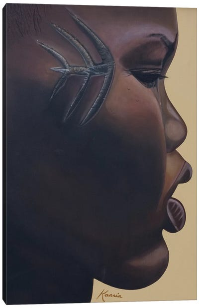 Tribla Mark, 2007 Canvas Art Print