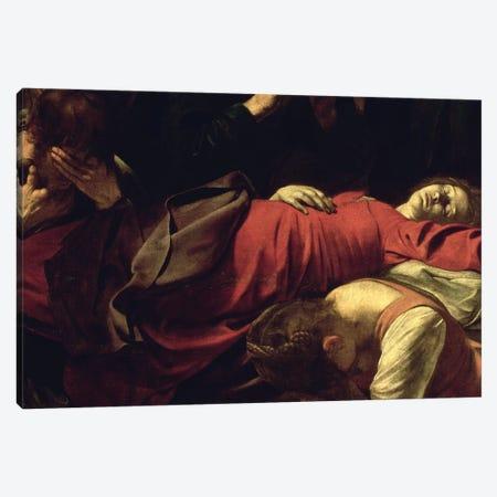 The Death of the Virgin, 1605-06 Canvas Print #BMN9394} by Michelangelo Merisi da Caravaggio Canvas Wall Art