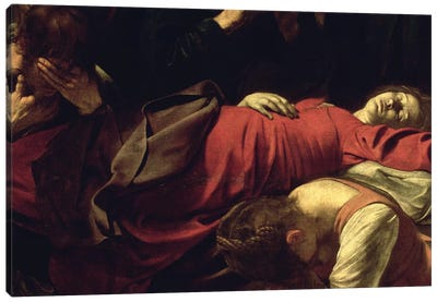 The Death of the Virgin, 1605-06 Canvas Art Print