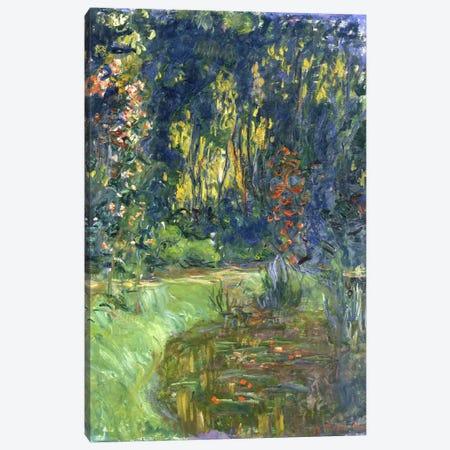 Garden of Giverny, 1923 Canvas Print #BMN939} by Claude Monet Canvas Artwork