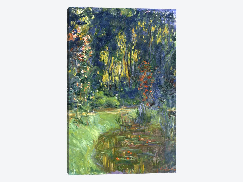 Garden of Giverny, 1923 by Claude Monet 1-piece Art Print
