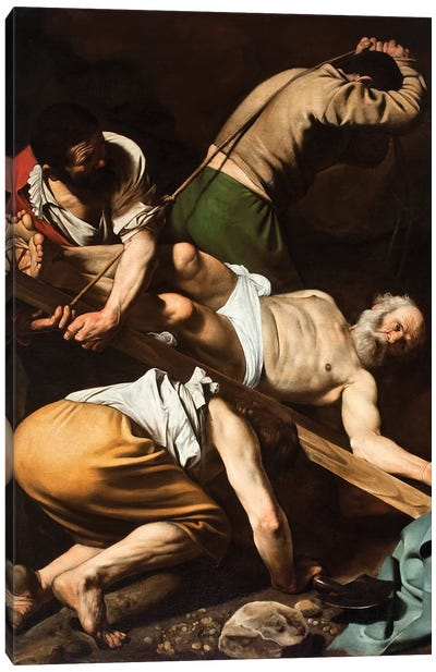 The Martyrdom of St Peter  Painting Canvas Art Print