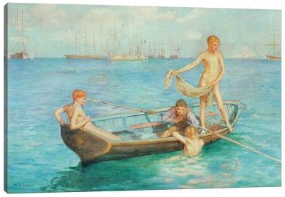 August Blue, 1896 Canvas Art Print