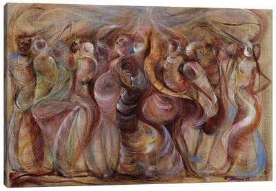 Storming Canvas Art Print