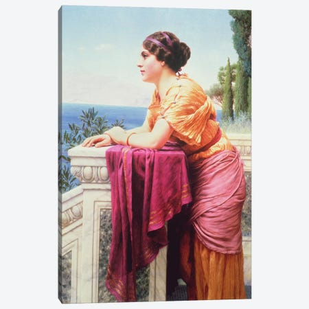The Belvedere Canvas Print #BMN941} by John William Godward Canvas Art Print