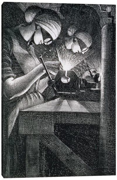 Acetylene Welders, 1917 Canvas Art Print