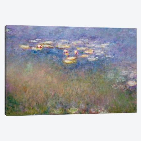Water Lilies  c.1915-26 Canvas Print #BMN9434} by Claude Monet Canvas Art Print