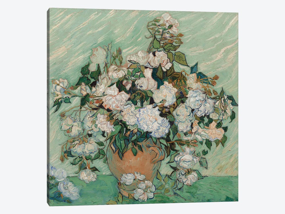 Roses, 1890 1-piece Canvas Artwork