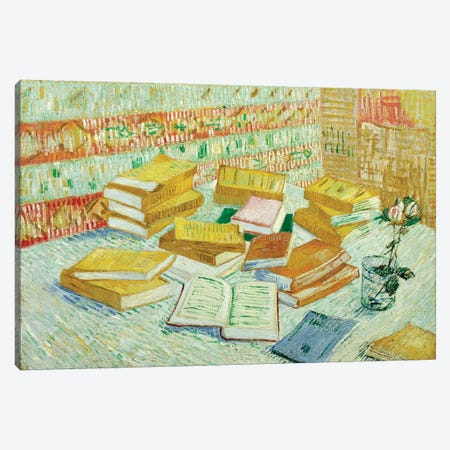 The Parisian Novels , 1887 Canvas Print #BMN9448} by Vincent van Gogh Canvas Print