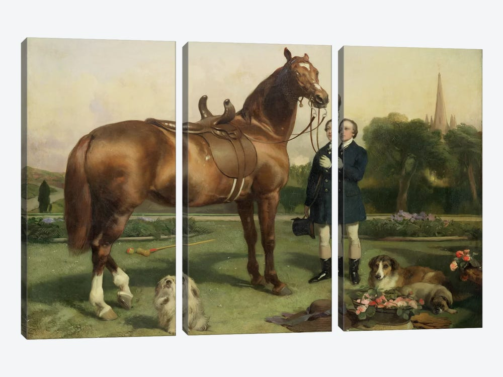 Prosperity  by Sir Edwin Landseer 3-piece Art Print