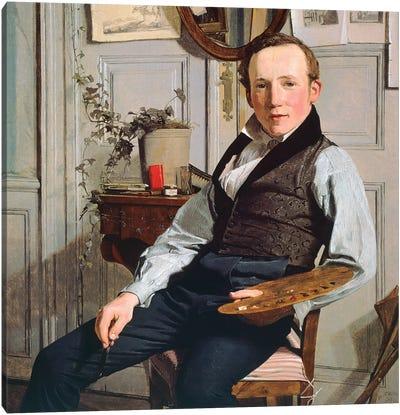 Portrait of Frederick Sodring, 1832 Canvas Art Print