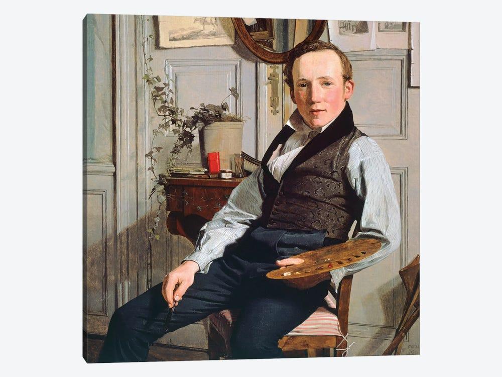 Portrait of Frederick Sodring, 1832 by Christen Kobke 1-piece Canvas Print