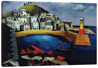 The Harbour, 1926 Canvas Art Print