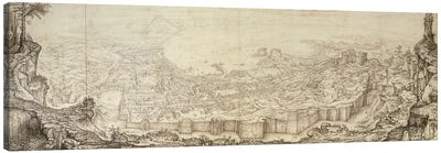 View Of Naples, 1582 Canvas Art Print