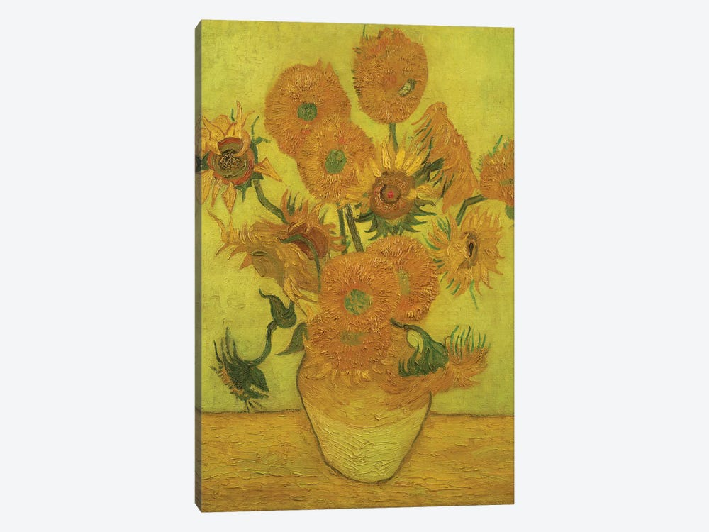 Sunflowers, 1889 by Vincent van Gogh 1-piece Art Print