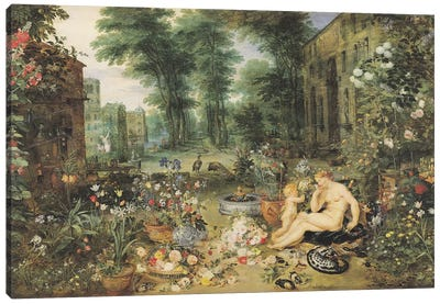 The Sense of Smell  Canvas Art Print