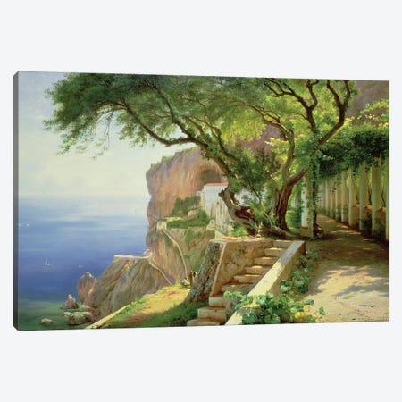Amalfi Canvas Print #BMN9515} by Carl Frederick Aagaard Canvas Wall Art