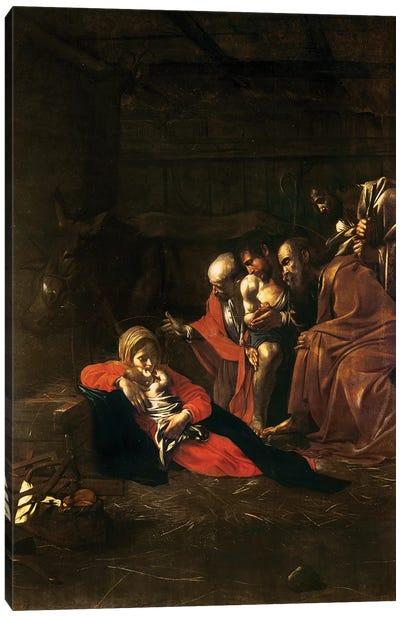 Adoration of the Shepherds Canvas Art Print