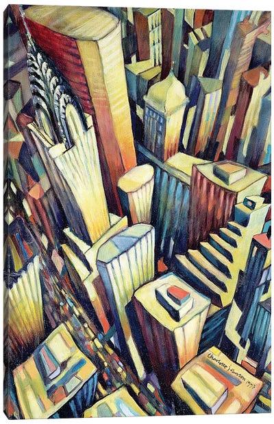 The Chrysler Building, 1993 Canvas Art Print