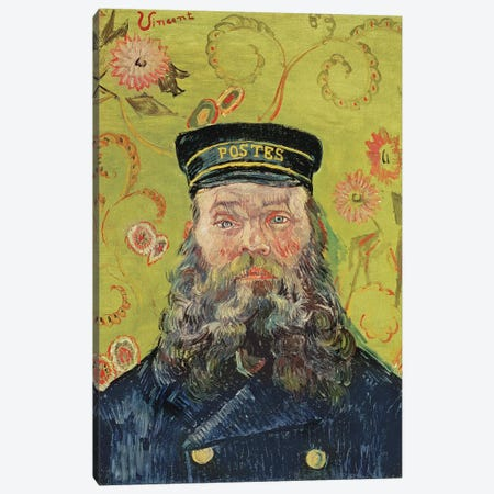Joseph-Etienne Roulin, 1889 3-Piece Canvas #BMN9544} by Vincent van Gogh Canvas Print