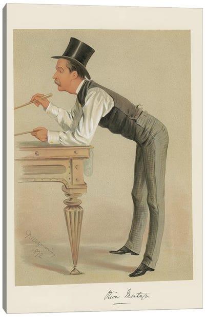 Hon Oliver Montagu Canvas Art Print
