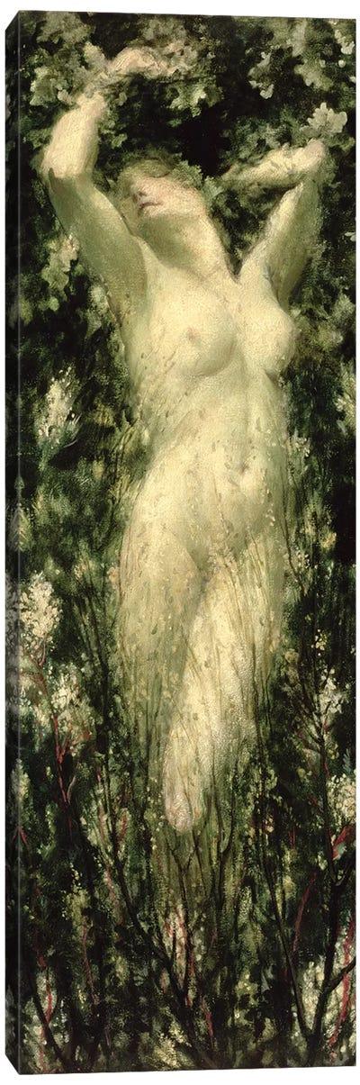 Blodeuwedd, c.1925-30 Canvas Art Print