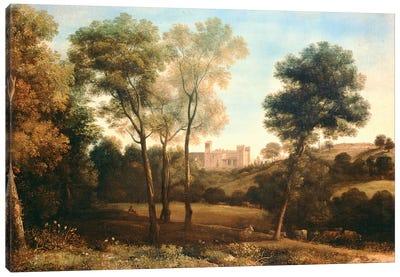 Landscape with Castle Canvas Art Print