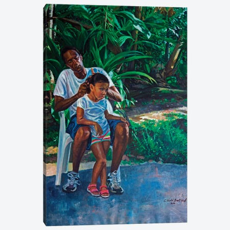 Grandfather and Child, 2010  Canvas Print #BMN9594} by Colin Bootman Canvas Artwork