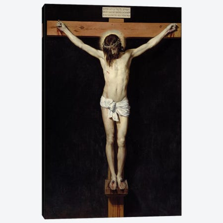 Christ crucifies, 1632 Canvas Print #BMN9598} by Diego Rodriguez de Silva y Velazquez Canvas Art Print