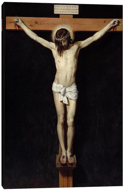 Christ crucifies, 1632 Canvas Art Print