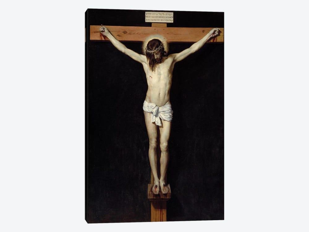 Christ crucifies, 1632 by Diego Rodriguez de Silva y Velazquez 1-piece Canvas Print