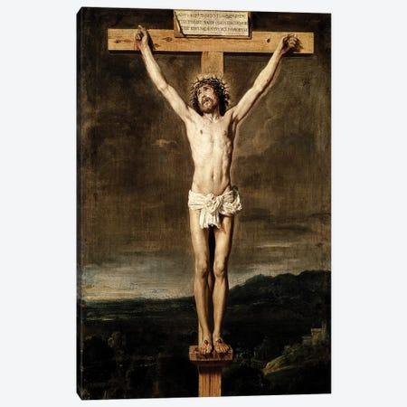 Crucifixion, 1631 Canvas Print #BMN9601} by Diego Rodriguez de Silva y Velazquez Canvas Art Print