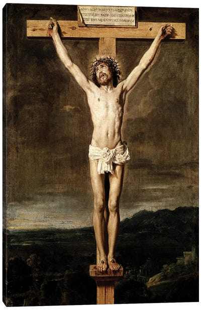 Crucifixion, 1631 Canvas Art Print
