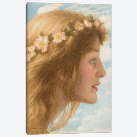 Day  Canvas Print #BMN9609} by Edward Robert Hughes Art Print