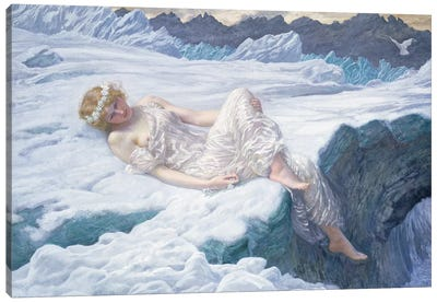 Heart of Snow, 1907  Canvas Art Print