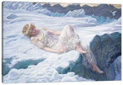 Heart of Snow, 1907  Canvas Art Print