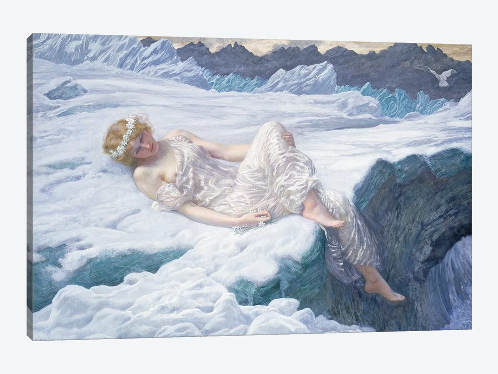 Heart of Snow, 1907  by Edward Robert Hughes 1-piece Canvas Print