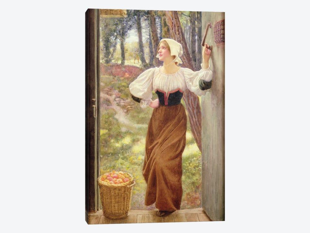 Tithe in Kind  by Edward Robert Hughes 1-piece Canvas Art Print